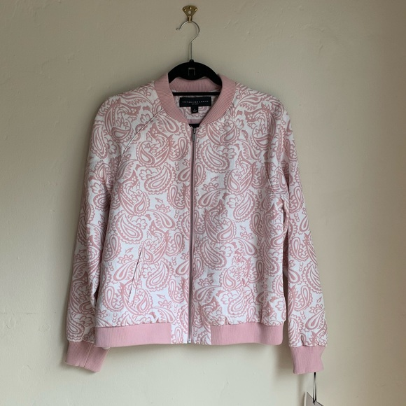 cb4d5407791 Victoria Beckham for Target Jackets & Coats | Pink And White Jacket ...